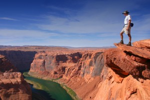 Grand Canyon man Shutterstock super
