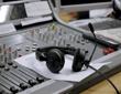 mixer and headphones